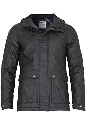 Jack & Jones Winter Jacke Date Short Parka Jacket, Größe:M;Farbe:Pirate Black