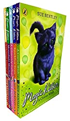 Magic Kitten Collection 5 Books Set By Sue Bentley (A Glittering Gallop, Sparkling Steps, A Christmas Surprise, Moonlight Mischief, A Circus Wish)