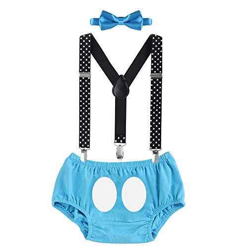 9a00f671b9893e Bébé Enfant Shorts Bloomer Salopette Bretelle Pince Y-Back Réglable Cravate  Nœud Papillon Costumes de