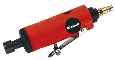 Einhell Druckluft Stabschleifer Set DSL 250/2 passend für Kompressoren (6,3 bar, Luftverbrauch ca. 128 l/min., inkl. Zubehör, im Koffer)