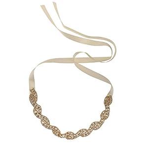 Sharplace Charleston-Stirnband, Einheitsgröße, Gold