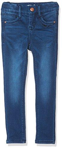NAME IT Baby-Mädchen NITTRICKY Skinny DNM Pant NMT NOOS Jeans, Blau (Dark Blue Denim), 92 (Mädchen Baby Jeans)