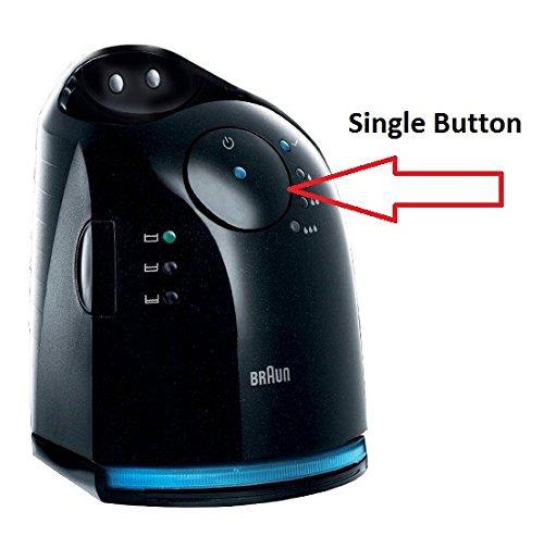 Braun Single Button Series 7 Rasierer Reinigen und Aufladen (nicht im Lieferumfang enthalten) -