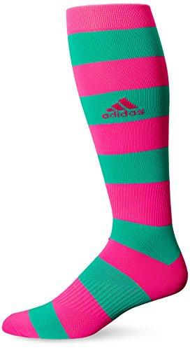 Adidas Metro IV Fußball Socken, unisex - erwachsene, Shock Pink/Shock Mint, Large (Von Adidas Jugend-socken)