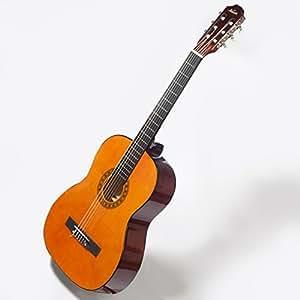 Kapok - Guitare de concert 4/4 classique acoustique pour debutant avec cordes, sac en nylon, médiators, diapason à bouche et sangle
