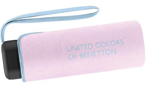 Benetton Taschenschirm Ultra Mini Flat Solid - Lilac Gray
