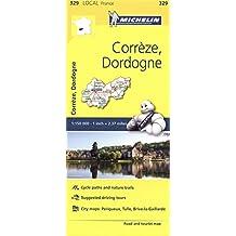 Corrèze, Dordogne (Michelin Local Maps)