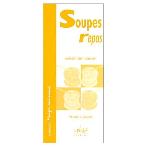 Soupes repas saison par saison