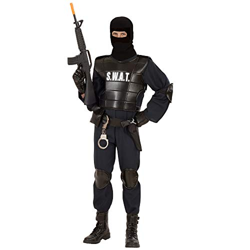 Kostüm Swat Spezialeinheit - Widmann 55341 - Erwachsenenkostüm Swat Officer