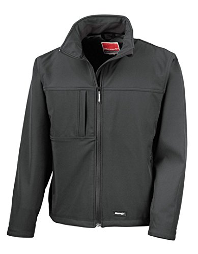 Result Classic Soft Shell Jacket Black