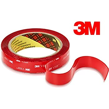 3m Heavy Duty Mounting Tape 4910 Clear Double Sided