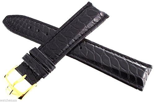 Tag Heuer Lederband 20mm schwarz gelbe Schließe