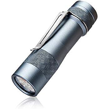 LED Taschenlampe LUMINTOP EDC05 Kleine Tragbare EDC Lampe mit CREE XP-L KW LED Superhell 800 LM 7 Modi Tailcap-Magnet IP68 Wasserdicht f/ür Alltag Outdoor Camping Wandern Angeln Notf/älle Schwarz
