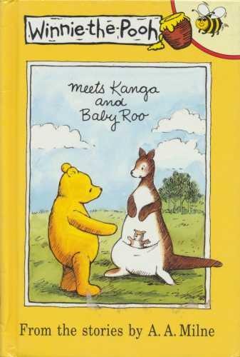Winnie-the-Pooh meets Kanga and Baby Roo