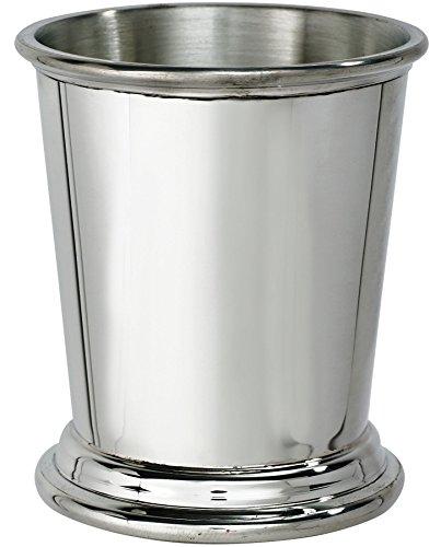 I Luv LTD Beaker Whisky Tumbler in Plain Pewter Ideal for Engraving -
