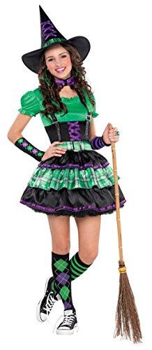 Kostüm Teenies Kinder Gr. 162 (Freche Hexe Kostüme)