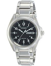 Citizen Analog Black Dial Men's Watch - AW0050-58E