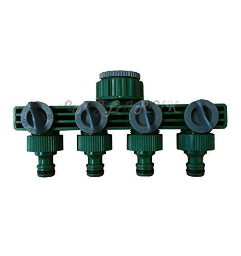 Generic qy-uk4-16 feb-20-2312 * * * * * * * * 1 * * * * * * * * * * * * * * * * 4262 Jauge * * * * * * * * * * * * * * * * Pour Tuyau d'arrosage 1/5,1 cm Robinet d'eau extérieur 3/4 voies 1 4 voies 1/5,1 cm 3/10,2 cm Bre Wat Adaptateur Splitter Daptor Serrure connecteur adaptateur Splitter