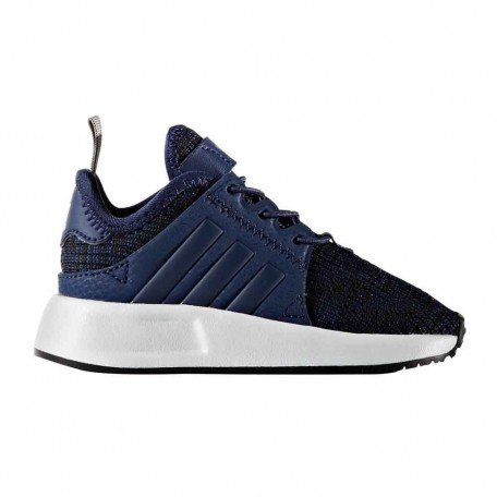 Adidas x_plr el i sneaker unisex-bimbi, blu azuosc/ftwbla 000, 21 eu