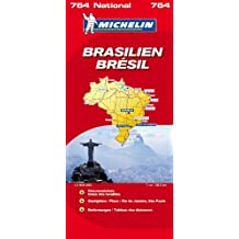Brasilien (Michelin Nationalkarte)