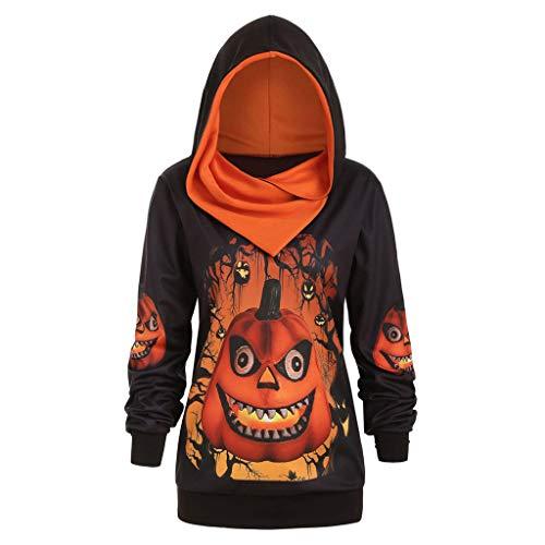 Für Tudor Erwachsene Kostüm - Lomelomme Halloween Sweatshirt mit Tasche Langarm Kapuzenpullis Kostüm Damen Pullover Loose Fit Strickjacke Casual Oberteile Lange Ärmel Tuniken Große Größen Hoodie