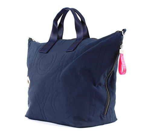Oilily Damen Spell Handbag Lhz Henkeltasche, 18x33x51 cm 402 dark blue