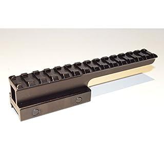 Acid Tactical® 2,5 cm durchsichtselement Erweiterung Riser High Top Schiene Scope Mount Full Länge hi-profile