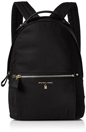 Michael Kors - Kelsey Md Backpack, Bolsos mochila Mujer, Negro (Black), 12x36x26 cm (W x H L)