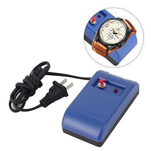 Fieuocs Uhrmacher-Schraubenzieher Schmuck Pinzette Elektrische Demagnetizer Entmagnetisieren Werkzeug Degausser Magnetic Magnetizer hinzufügen,Ich Kann es Schaffen