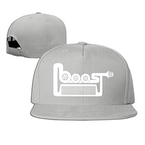 Youaini Boost Engine Car Racing JDM Baseball Snapback Cap Black