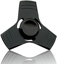 PP TOY Fidget Spinner Hand Cubo - 360 Grados de Rotación Giros de alta velocidad perfectos para dejar de fumar, ADD, ADHD, ansiedad y autismo para adultos y niños ( El negro)