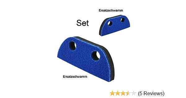 Kehrgarnitur Schaumstoffbesen Ersatzschwamm Set Handfeger Schaufel Teleskopstiel