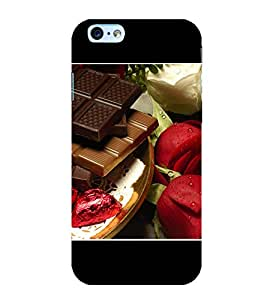 PrintVisa Choclates 3D Hard Polycarbonate Designer Back Case Cover for Apple iPhone 6