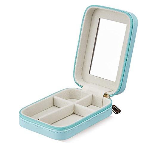 zhenfa Lippenstift Handgepäck Box Portable Reisen niedliche Ohrringe Ring Box einfachen Schmuck Box Trompete Lippenstift-Box