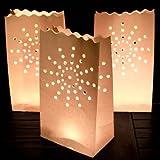 idealWigsNet Kerzenlaterne - Schachtel mit 10