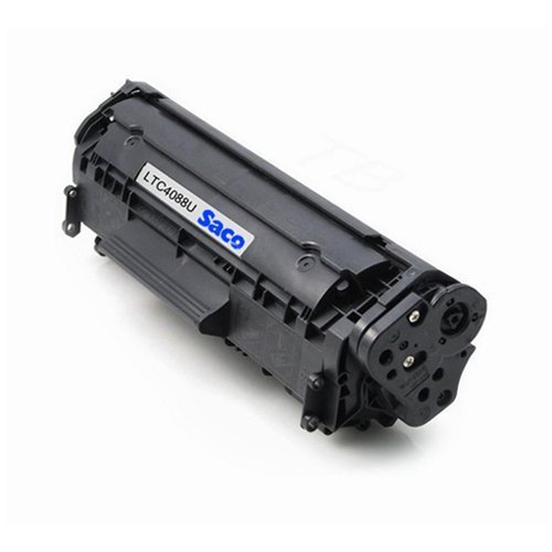 Saco 88A Black Toner Cartridge Compatible For HP LaserJet Pro - P1007, P1008, P1106, P1108, M1136, M1213nf, M1216nfh, M1218nfs  available at amazon for Rs.550