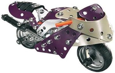 Meccano 51844700 - Juego de construcción de motocicleta