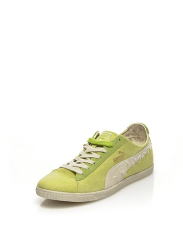 Puma Glyde Canvas Washed low Citron Vert