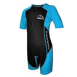 Aqua Sphere Stingray Schwimmanzug Neopren für Kinder schwarz/blau 152 - XXL - 12 Jahre