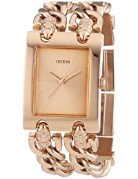 Guess Damen-Armbanduhr Edelstahl Ladies Trend Analog Quarz W0073L2