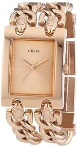Guess Damen-Armbanduhr Edelstahl Ladies Trend Analog Quarz W0073L2