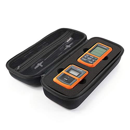 ProCase Hart Eva Case Hülle für ThermoPro TP20 / TP-08S / TP07 Wireless Remote Digital Küche Kochen Essen Fleisch Thermometer mit Netztasche -Schwarz (Thermometer Wireless-grill Remote)