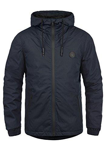 !Solid Tilden Sporty Herren Übergangsjacke Herrenjacke Jacke gefüttert mit Kapuze, Größe:M, Farbe:Insignia Blue (1991)