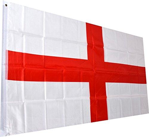 England Fahne englische National Flagge St. George Cross Flag 150 x 90 cm mit Schlaufe und Öse