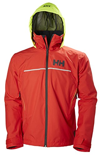 Helly Hansen Herren Hp Fjord Jacket, Alert Red, S
