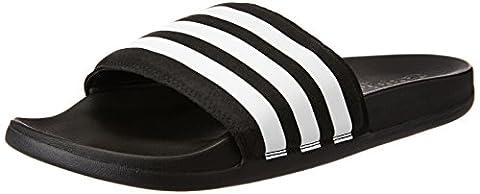 Adidas Men Adilette Cf Ultra Beach and Pool Shoes, Black (Core Black/Ftwr White/Core Black), 9 (Adidas Mens Infradito)