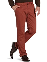 SELECTED HOMME Herren Hose 16027293 Three Paris Mahogony Chino Pants