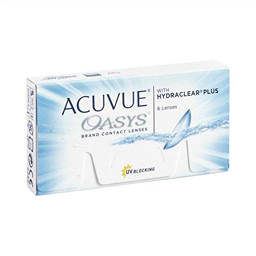 Acuvue Oasys 2-Wochenlinsen weich. 6 Stück / BC 8.8 mm / DIA 14.0 / -2.00 Dioptrien