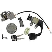 Xfight-Parts Deckel Fahrgestellnummer 104,10x31,50mm 4Takt 50ccm JSD50QT-13 AGM GMX 450 One JSD50QT-13