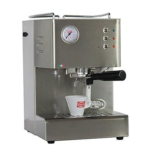 Quickmill Espressomaschine Cassiopea 03004 S ,Neue Ausführung aus gebürstetem Edelstahl